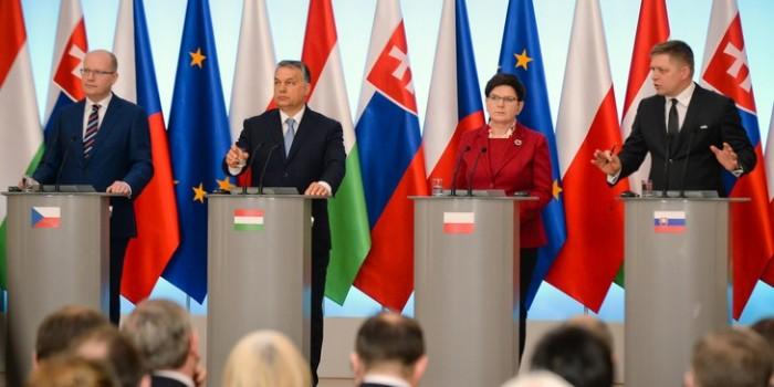gruppo di visegrad unione europea
