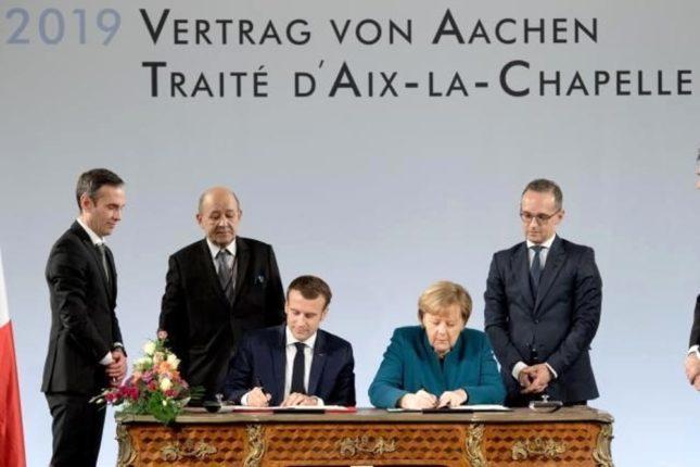 trattato di aquisgrana francia germania